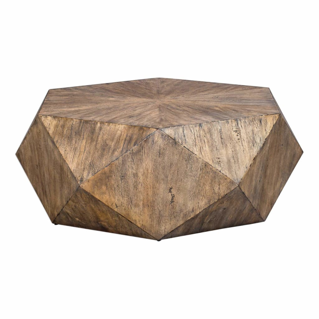 Volker Honey Coffee Table By Uttermost