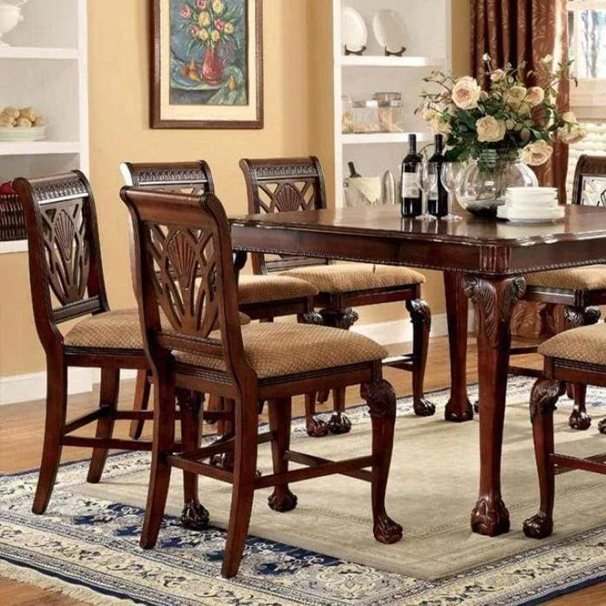 Petersburg Ii Traditional Style Counter Height Table