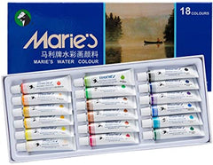 Marie's Extra Fine & Student Grade 18 - 12ml tube Watercolor Set