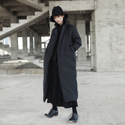 Marigold Shadows coats Namie Stand Collar Pocket Coat