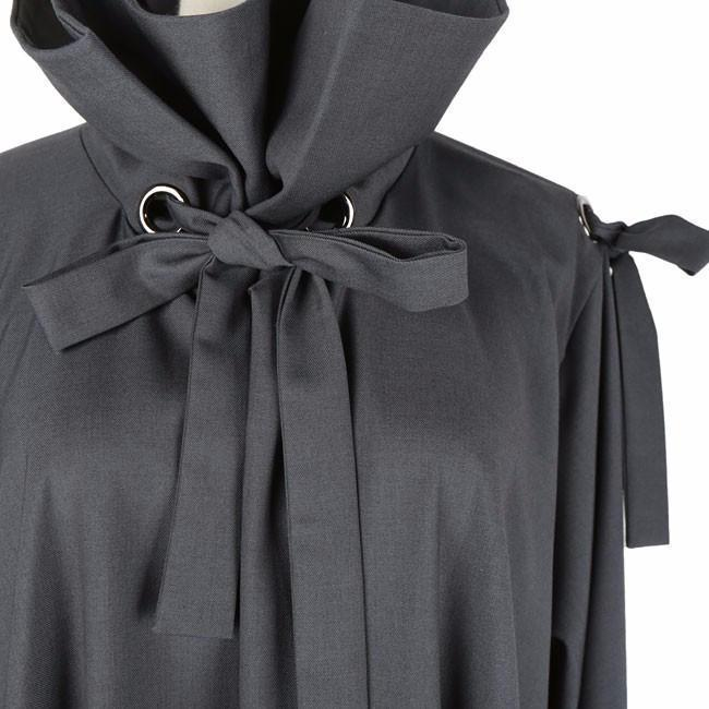 Marigold Shadows coats Schultz Ribbon Dress Coat - Gray