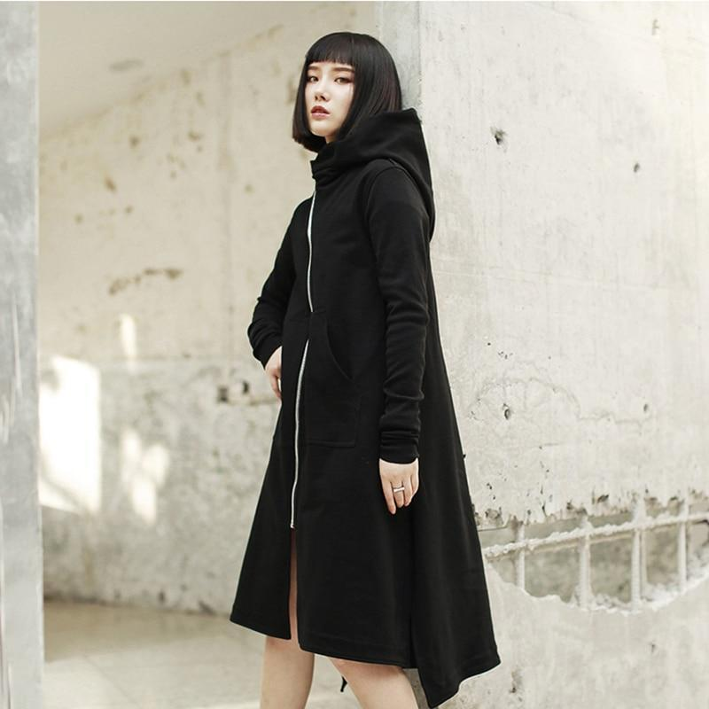 Marigold Shadows coats Surimu Zipper Hooded Coat