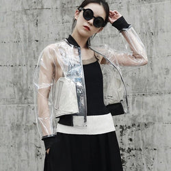 Marigold Shadows jackets Antler Transparent Varsity Jacket