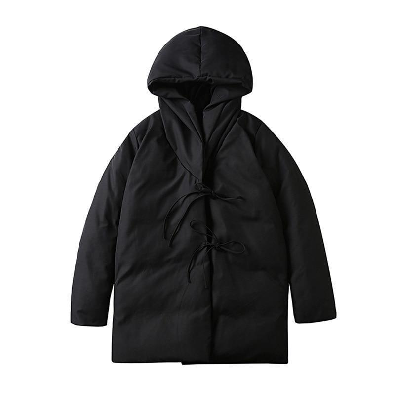 Marigold Shadows jackets Attakai Hooded Pocket Coat
