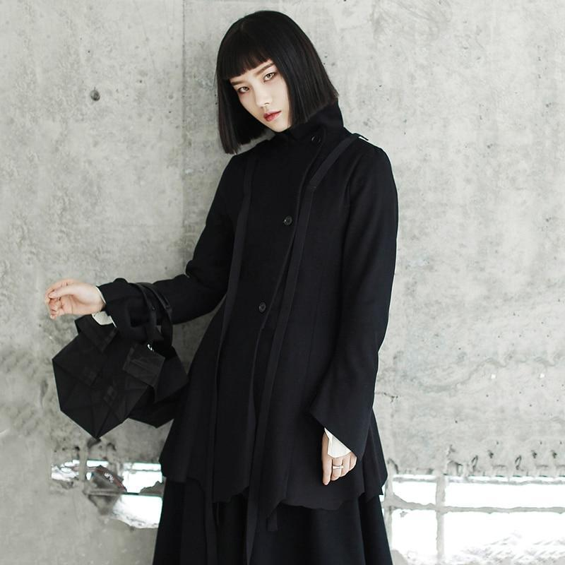 Marigold Shadows jackets Jitsuko Button Ringmaster Coat