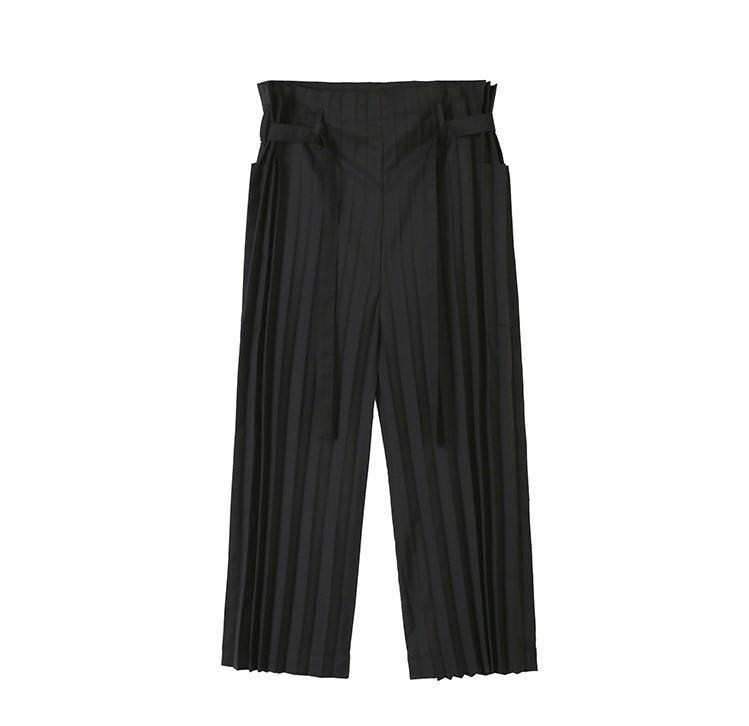 Marigold Shadows pants Akōdion Pleat Pants