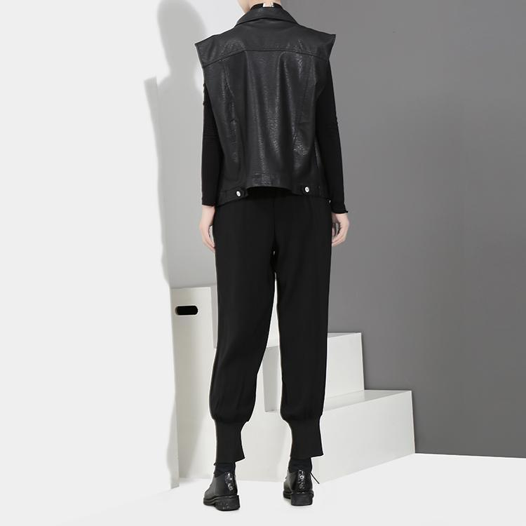 Marigold Shadows pants Tory Zipper Pants - Black