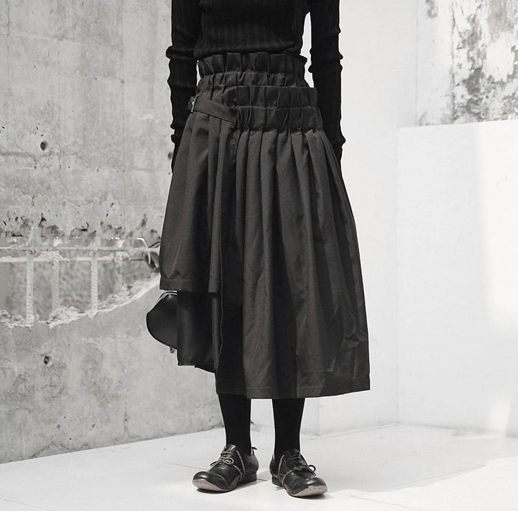 Marigold Shadows skirts Jointo Layered Empire Skirt
