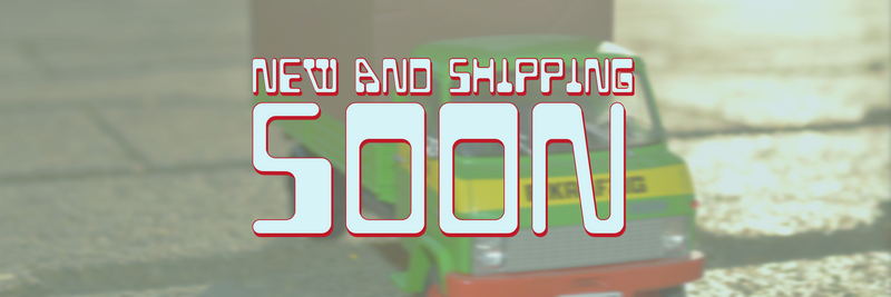 Updates on New items and Collectibles Shipping Soon!