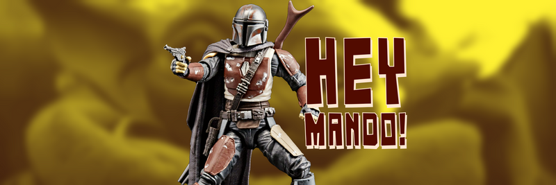 Star Wars the Black Series Mandalorian Figure Available!