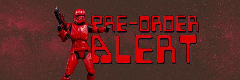 Pre-Order the Rise of Skywalker Sith Trooper - Black Series 6 in Action Figure