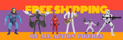 Action Figures Ship Free