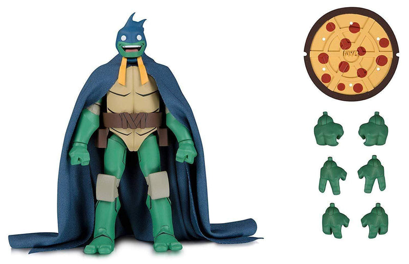 DC Collectibles Action Figures DC Batman vs. Teenage Mutant Ninja Turtles Mikey as Batman 7-inch Action Figure SDCC 2019 Exclusive Popoloco