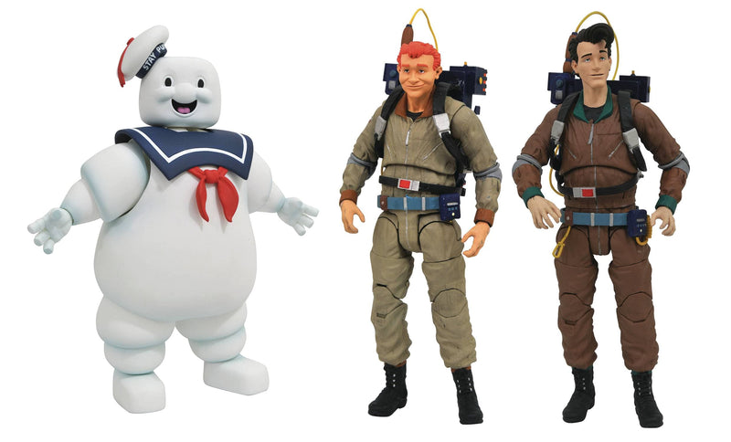 Diamond Select Action Figures The Real Ghostbusters Select Wave 10 Set of 3 Popoloco