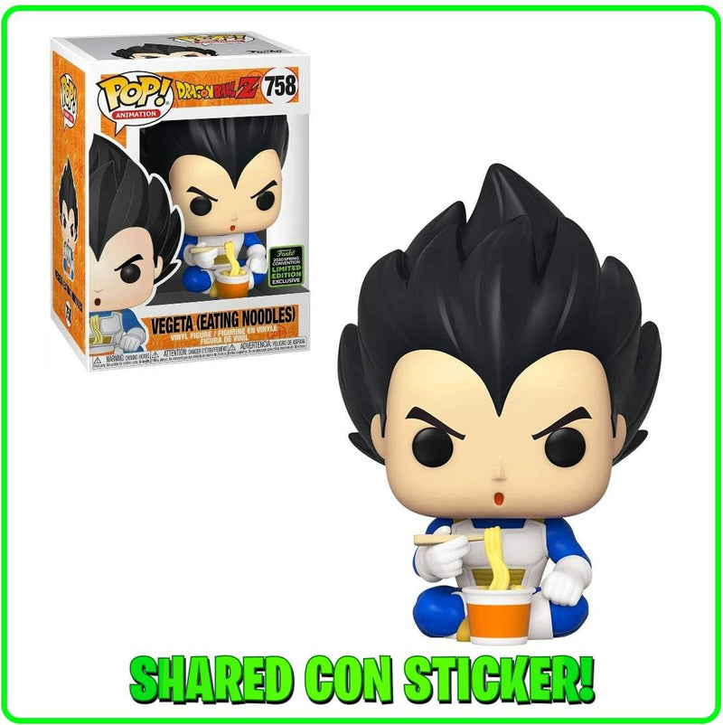 Exclusive POP Exclusive Funko POP! Animation: Dragonball Z Vegeta (Eating Noodles)