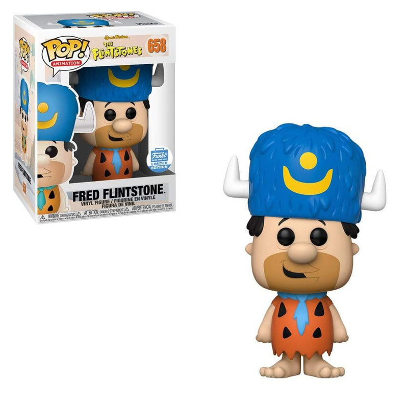 Exclusive POP Exclusive Funko Pop Animation: Fred Flinstone (Water Buffalo Hat)