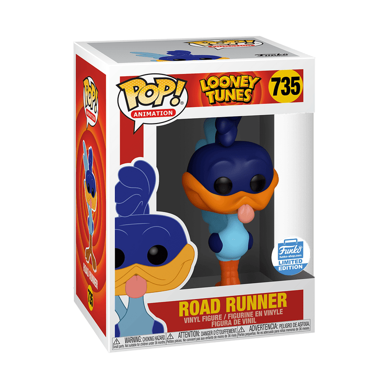 Exclusive POP Exclusive Funko Pop Animation: Looney Tunes Road Runner