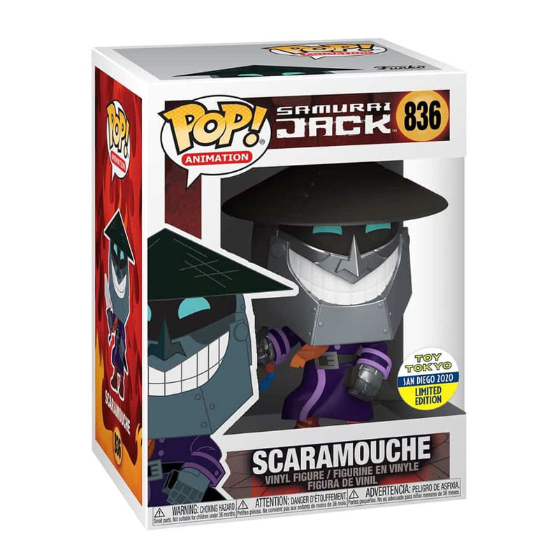 Exclusive POP Exclusive Funko POP! Animation: Samurai Jack - Scaramouche