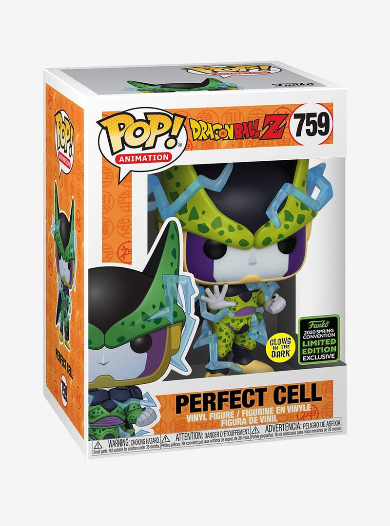 Exclusive POP Exclusive Funko POP! Animition: Dragonball Z Perfect Cell GITD