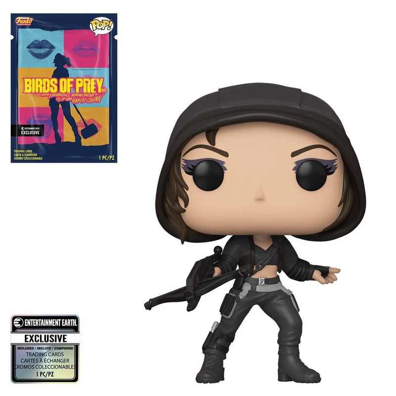 Exclusive POP Exclusive Funko POP: Birds of Prey Birds Huntress Vinyl Figure with Collectible Card - EE Exclusive Popoloco