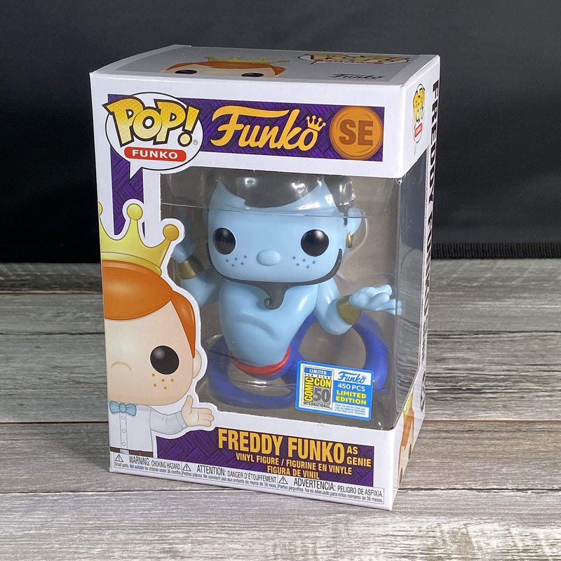 Exclusive POP Exclusive Funko POP Freddy Funko as Genie SE 2019 Box of Fun Popoloco