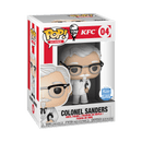 Exclusive POP Exclusive Funko POP! Icons: KFC Colonel Sanders with cane