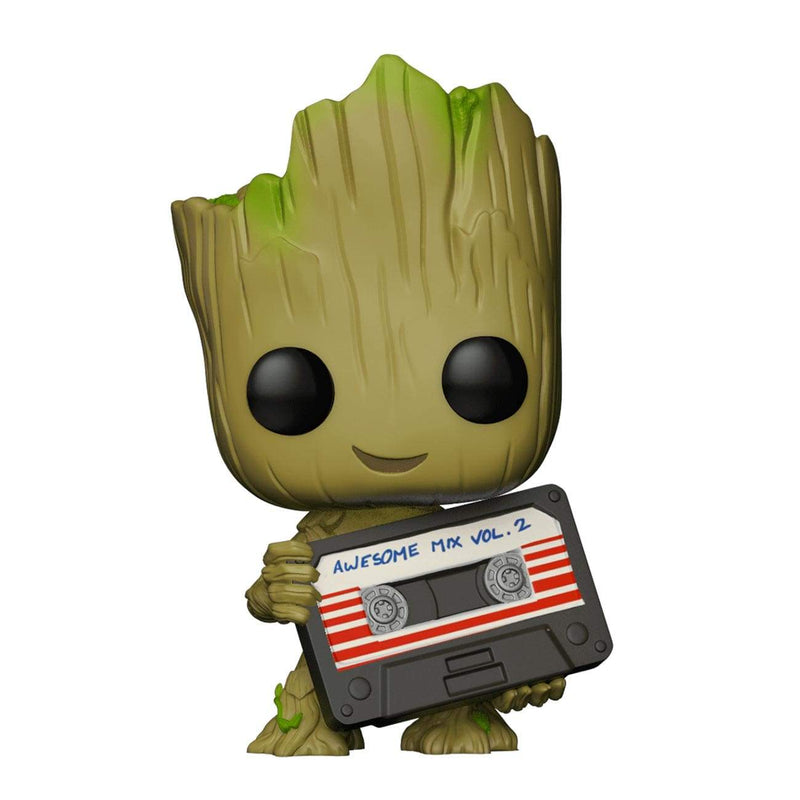 Exclusive POP Exclusive Funko POP Marvel: GOTG Vol 2. Groot Mixtape