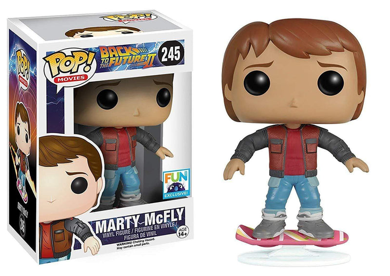 Exclusive POP Exclusive Funko POP Movies: Back to the Future Marty McFly