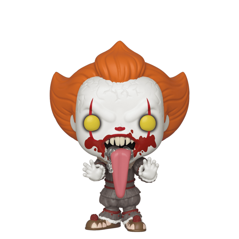 Exclusive POP Exclusive Funko POP! Movies: IT Chpt 2 Blood Splatter Pennywise Funhouse