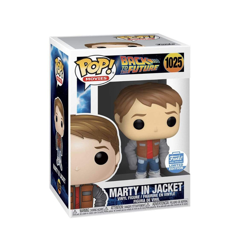 Exclusive POP Exclusive Funko POP Movies: Marty in Loose Jacket