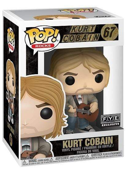Exclusive POP Exclusive Funko POP! Rocks Kurt Cobain