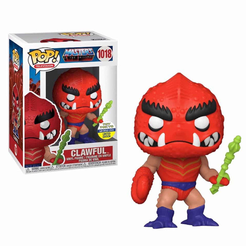 Exclusive POP Exclusive Funko POP! Television: Masters of the Universe Clawful