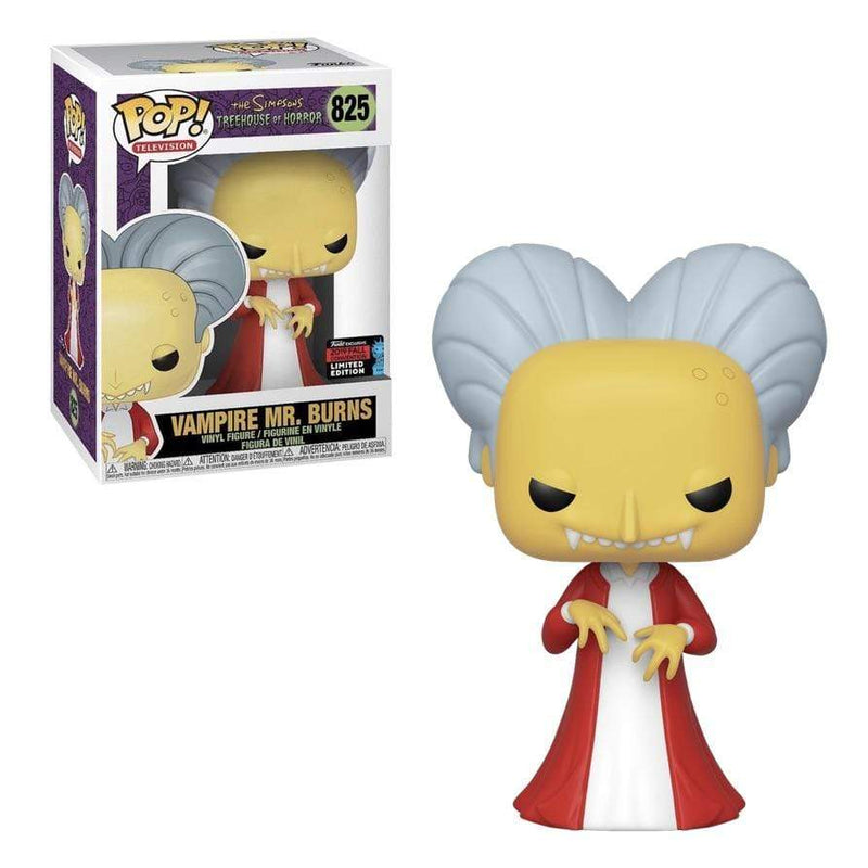 Exclusive POP Exclusive Funko POP! Television Simpsons Treehouse of Horror Vampire Mr. Burns (shared) Popoloco