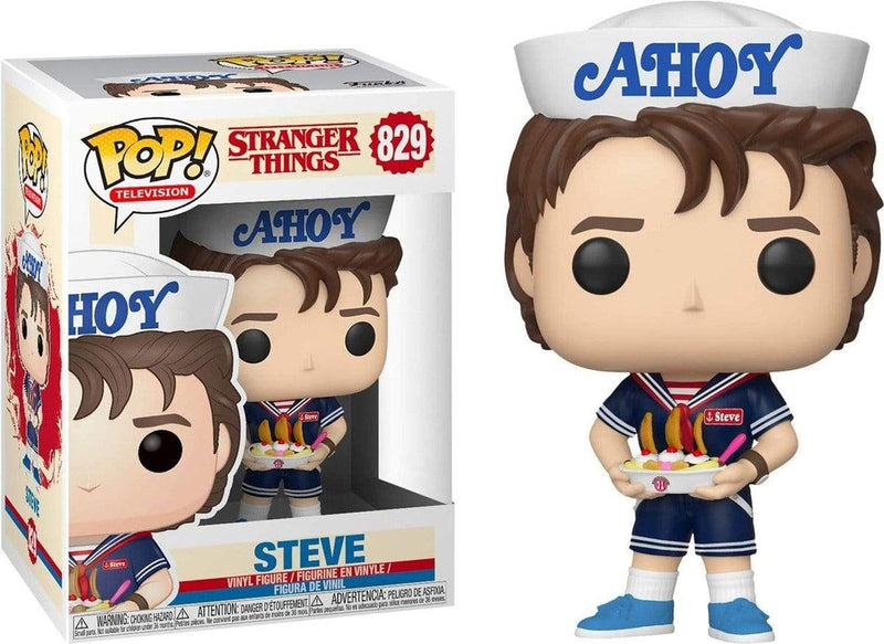 Exclusive POP Exclusive Funko POP! Television Stranger Things Scoops Ahoy Steve