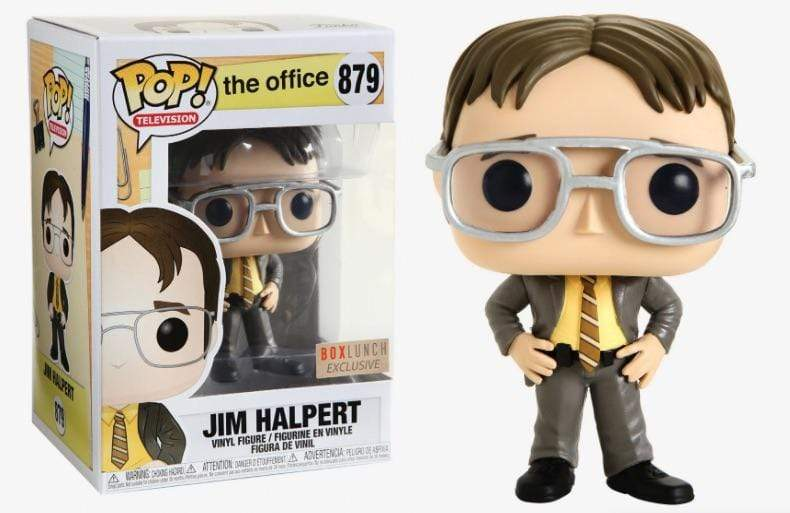 Exclusive POP Exclusive Funko POP! Television The Office - Jim Halpert at Dwight