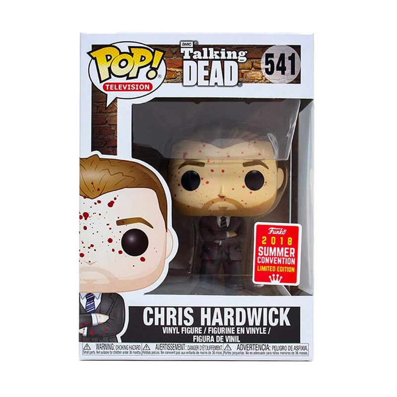Exclusive POP Exclusive Funko POP! Television: The Talking Dead Chris Hardwick