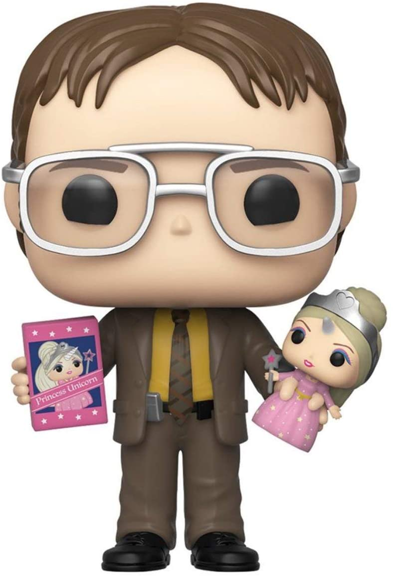 Exclusive POP Exclusive Funko POP! TV The Office - Dwight Schrute with Princess Unicorn