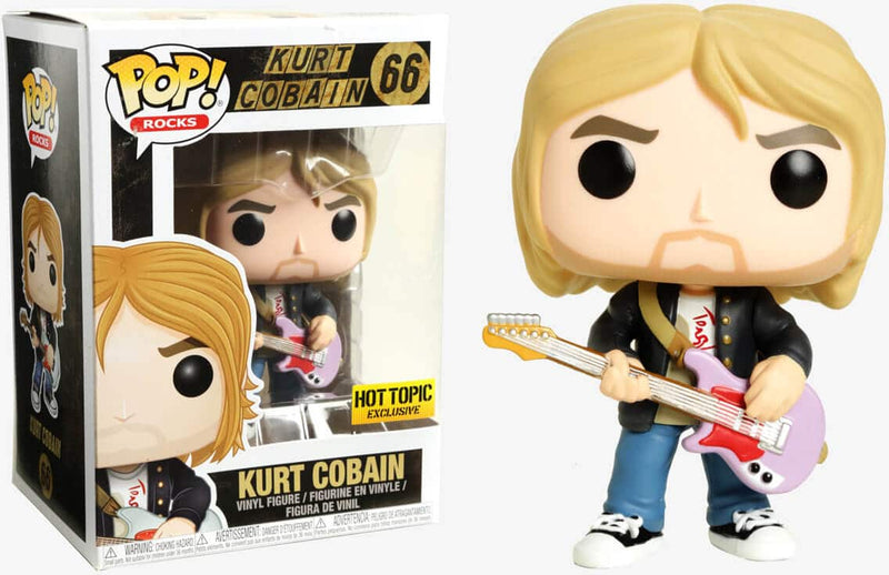 Exclusive POP Exclusive POP! Rocks - Kurt Cobain Hot Topic Exclusive