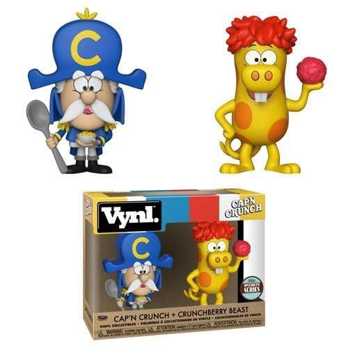 Exclusive Vynl Funko Vynl Ad Icons Cap'n Crunch Crunchberry Beast Figure 2-Pack Specialty Series Popoloco