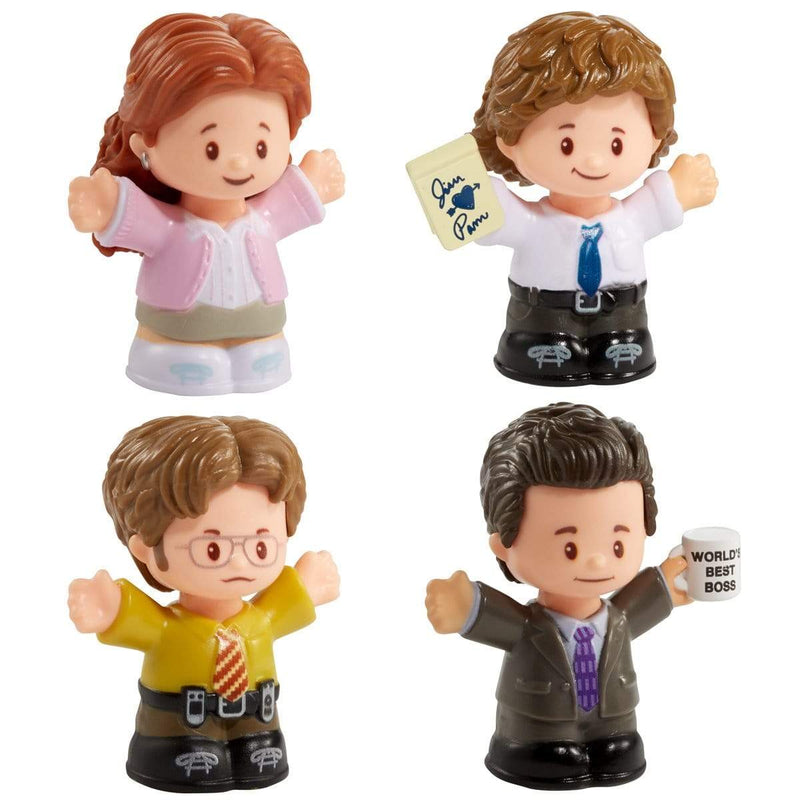 Fisher Price Mini Figures The Office Figure Set by Little People Collector Popoloco