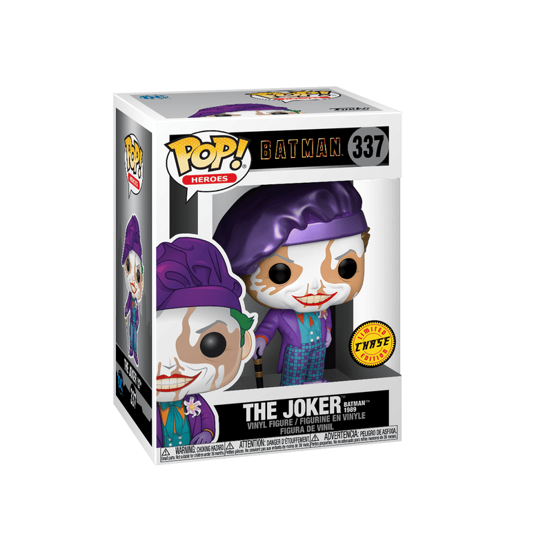 Funko Chase POP Exclusive Funko POP DC Heroes: 1989 Batman Movie Joker
