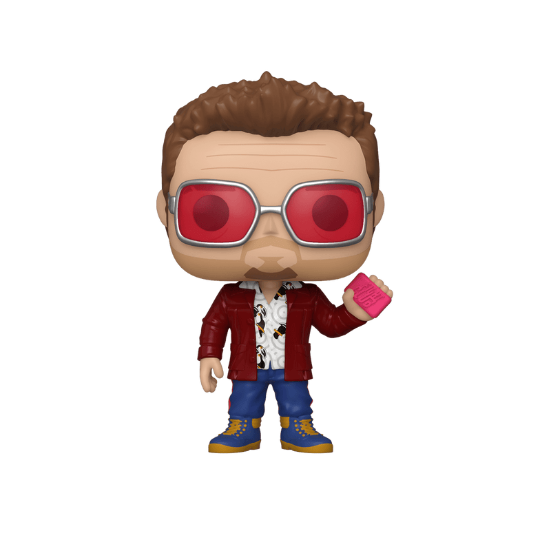 Funko Chase POP Exclusive Funko POP Movies: Fight Club - Tyler Durden