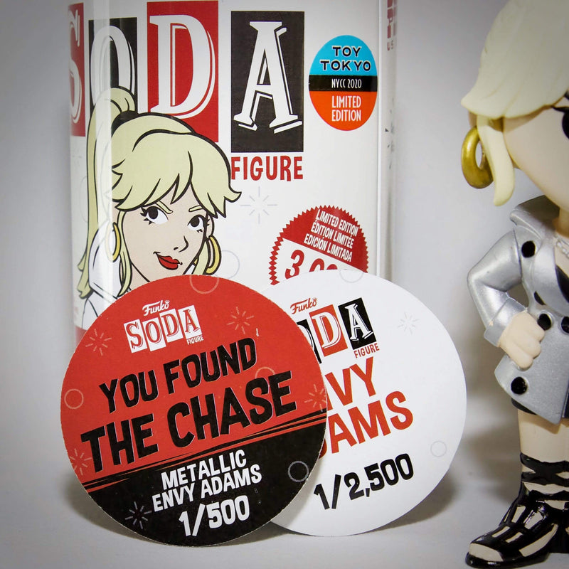 Funko Chase Vinyl Collectible Funko Vinyl Soda: Envy Adams Chase Set NYCC 2020 Exclusive Popoloco