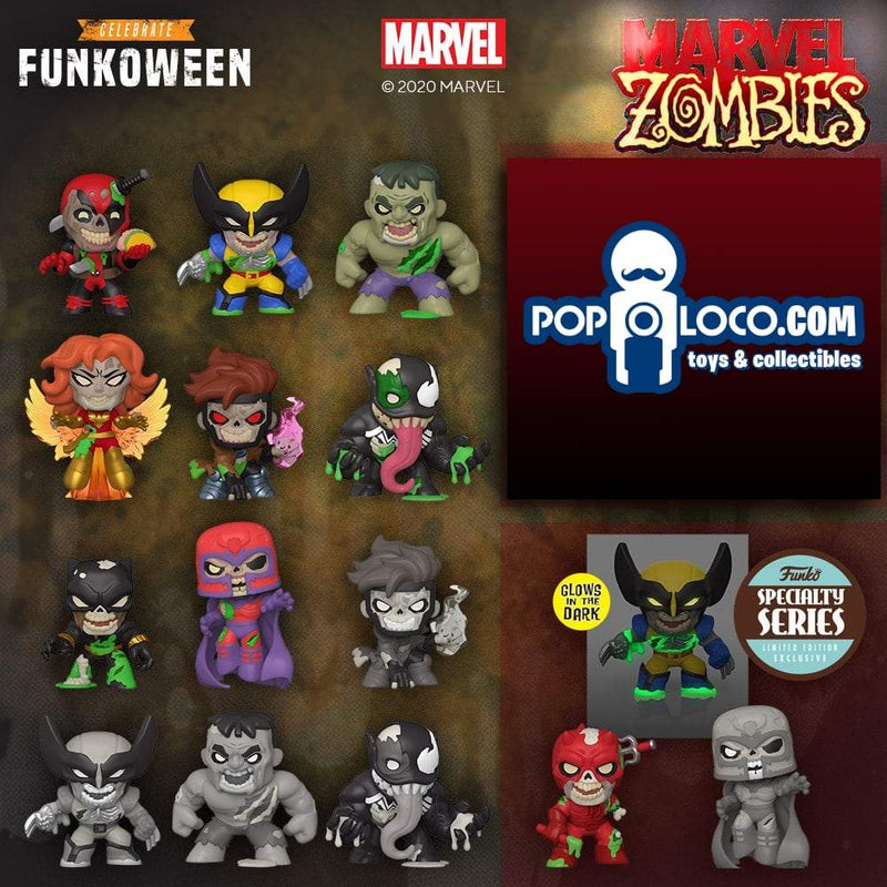 Funko Mystery Minis FULL CASE OF 12 Marvel Zombies Mystery Minis Display Case - Specialty Series Popoloco