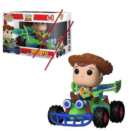 Funko POP *Box not Mint* POP! Rides: Toy Story Woody and RC Pop! Vinyl Vehicle