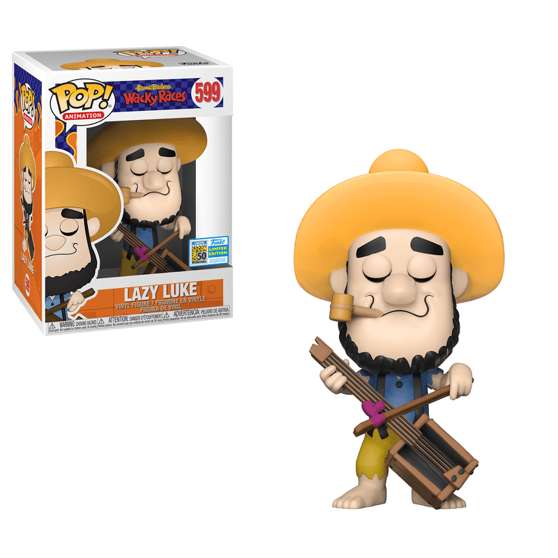 Funko POP Exclusive Funko Pop Animation: Wacky Races Lazy Luke