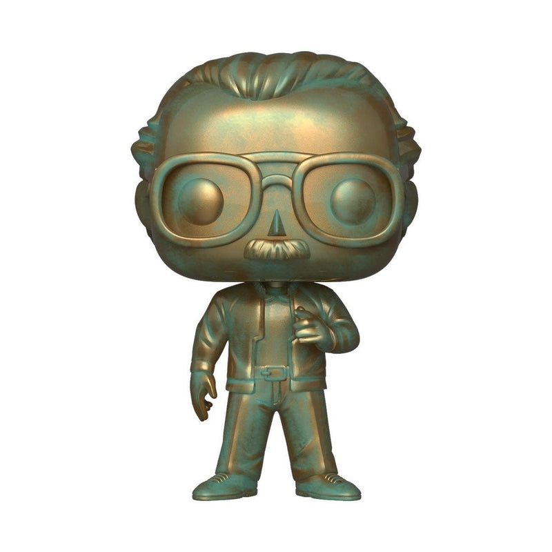 Funko POP Exclusive Funko POP! Icons - Stan Lee in Patina Finish