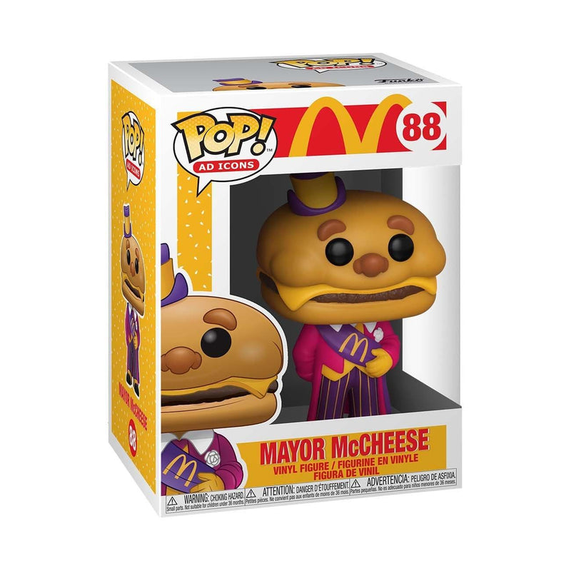 Funko POP Funko POP Ad Icons McDonald's Mayor McCheese