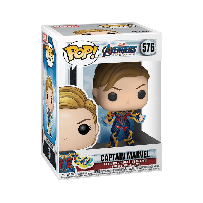 Funko POP Funko POP! Avengers: Endgame Captain Marvel New Hair