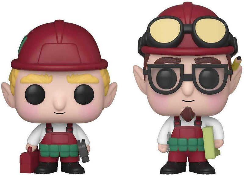 Funko POP Funko POP! Christmas: Peppermint Lane Randy and Rob 2-Pack Popoloco